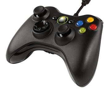 Xbox 360 Controller (geeignet für Windows) schwarz -